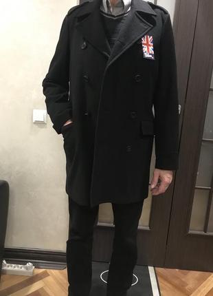 Стильное новое мужское пальто billy london uk. куплено в америке