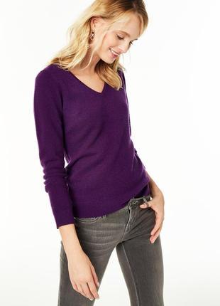 Стильный базовый джемпер с шелком / пуловер люкс бренд hobbs s