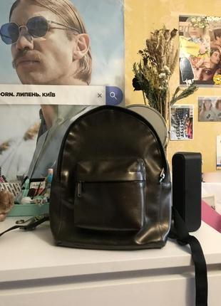 Маленький рюкзак из кож.зама anna sun