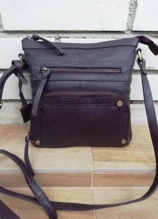 Шкіряна фірмова багатофункціональна англійська сумка кросбоді lloyd baker!!! оригінал!!