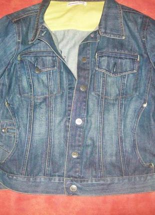 Пиджак джинсовый стильный и модный 48-50р