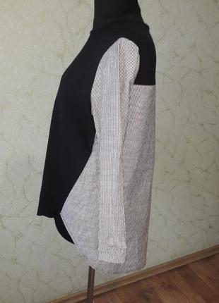 Базовая кофта-рубашка большого размера