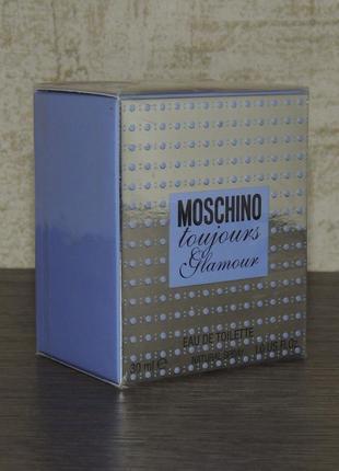 Moschino toujours glamour 30 мл туалетная вода для женщин оригинал