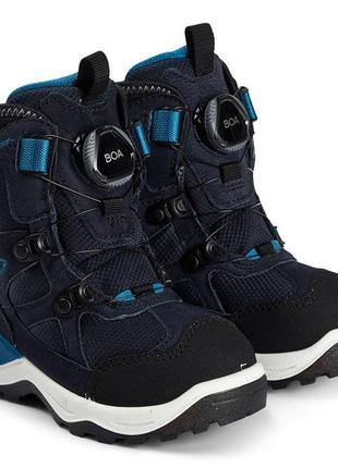 Зимние сапоги ботинки еcco snow mountain