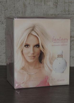 Britney spears fantasy intimate edition 30 мл парфюмированная вода для женщин оригинал