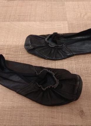Чешки чёрные, 20,5 см