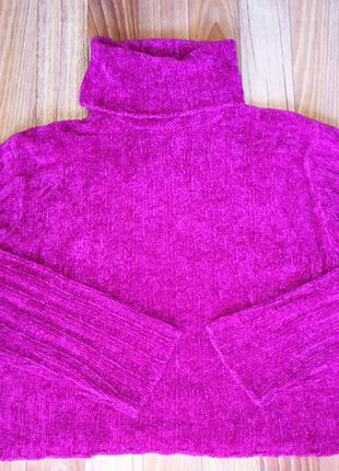 Яркий кроп-свитер c&a