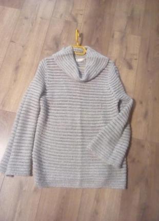 Чарівний! легкий, теплий, об'ємний еластичний светер
