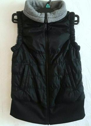 Крутая двусторонняя жилетка, 38-40-42, adidas neo