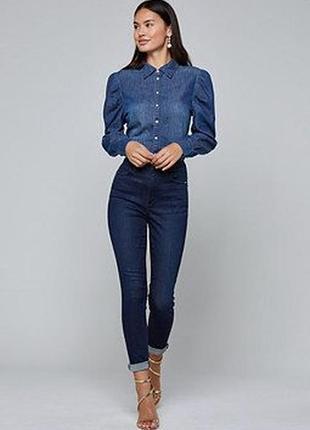 Крутая джинсовая рубашка vila