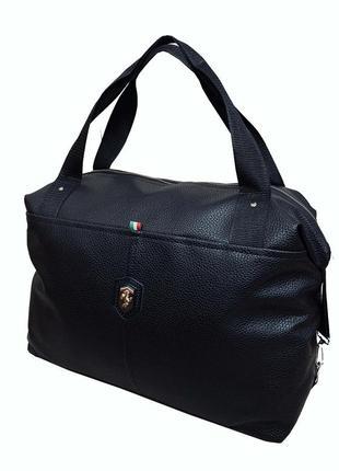 Новая стильная сумка pu кожа / сумка для фитнеса / сумка на тренировку / в дорогу