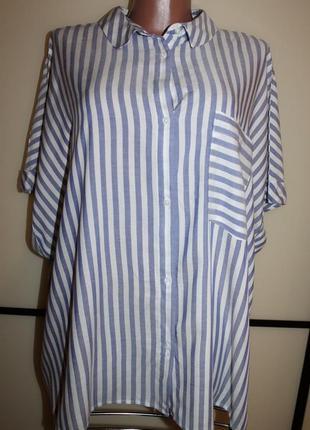 Рубашка блуза primark uk 20 eur 48, на 54 р