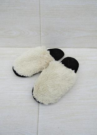 Домашние теплые тапочки handmade