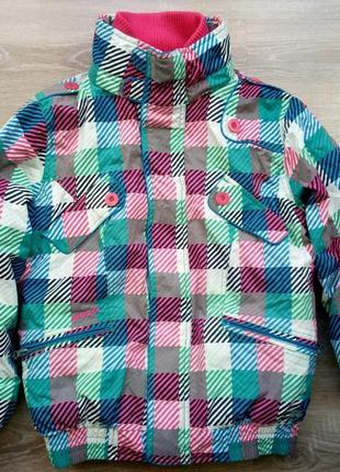Детская лыжная куртка на девочку подростка