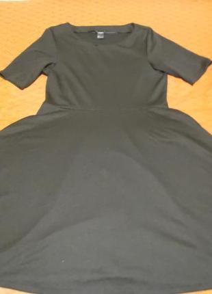 Классическое расклешенное платье с акцентом на талии lindex