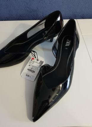 👠классические лаковые туфли 👠zara👠450грн👠