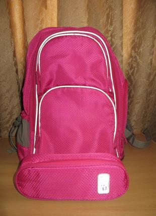Школьный ортопедический рюкзак  kite smart + пенал
