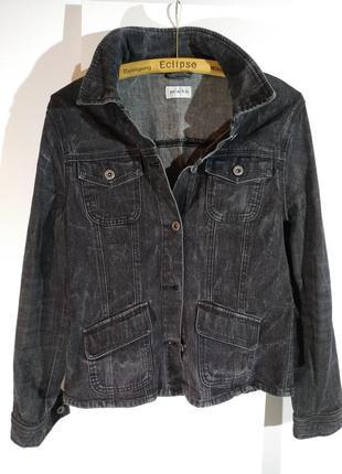 Пиджак/ жакет (джинсовый, варенка) (бренд m-o-t-o)