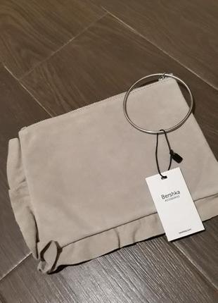 Замшевая  сумочка berchka