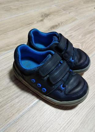 Clarks кожаные кроссовки мокасины туфли
