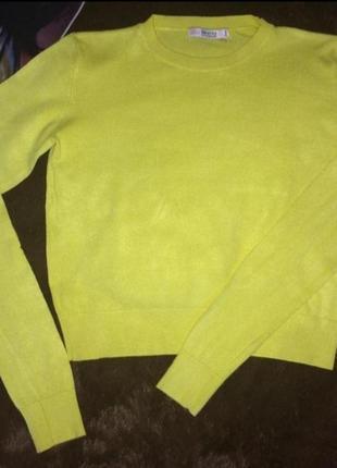 Кроп свитерок, джемпер от bershka