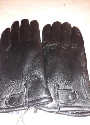 Печатки мужские зимние кожаные на меху