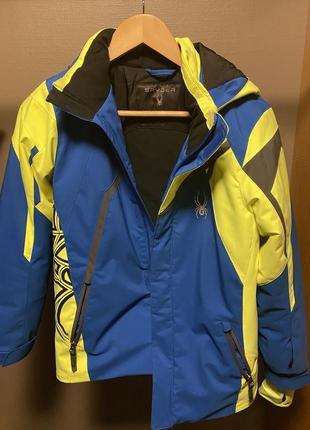 Лыжная куртка spider на мальчика , размер 14.