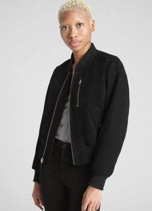 Замшевая куртка, бомбер gap