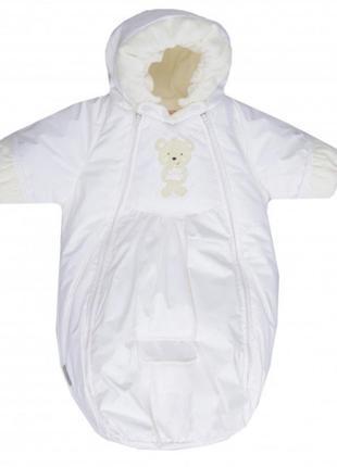 Зимний комбинезон-конверт lenne bliss, для новорожденного, на выписку