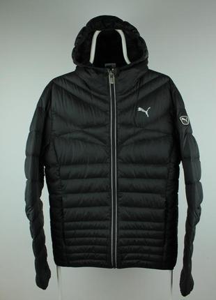 Шикарный оригинальный пуховик puma 600 paclite down jacket