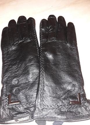 Перчатки женские натуральная кожа на шерсти