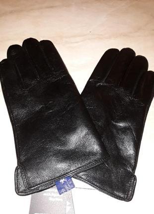 Перчатки кожаные классика