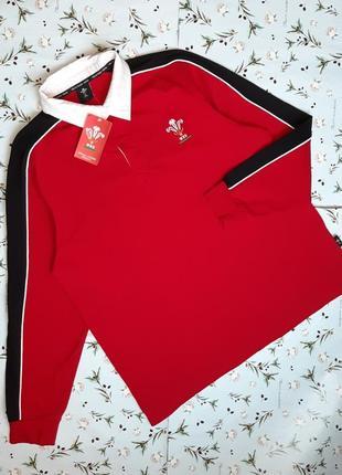 🎁1+1=3 новый красный свитер поло лонгслив  wru, размер 50 - 52