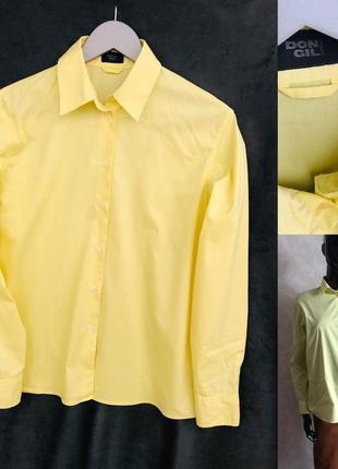 Лимонная рубашка в идеале м