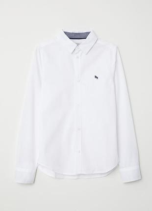 Рубашка для мальчика h&m, 10-11 лет, р. 140-146