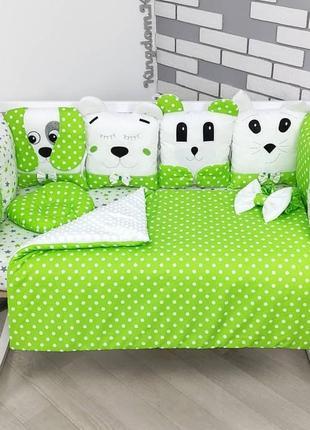 Бортики в кроватку!!! 🎄💚