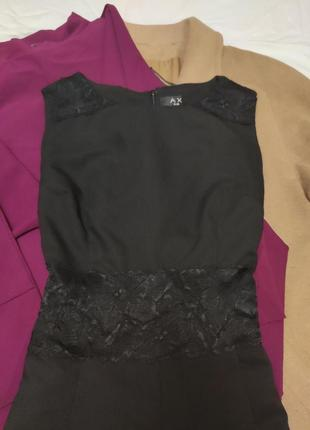 Комбинезон с шортами с гипюром на талии костюмка ax paris2 фото