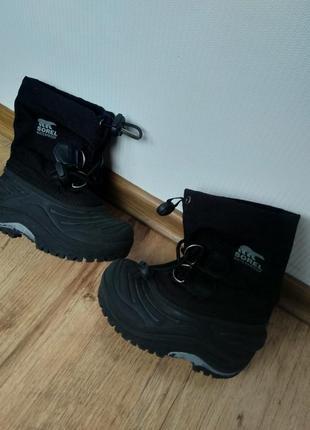 Чоботи черевики сапоги водонепроникні ботинки sorel