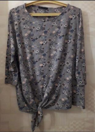 Нежная кофточка, блуза, 50-52-54, вискоза, m&s