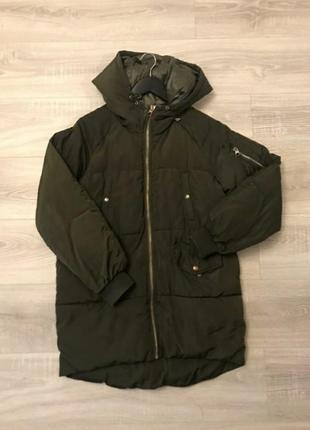 Куртка парка дутая пуховик пальто