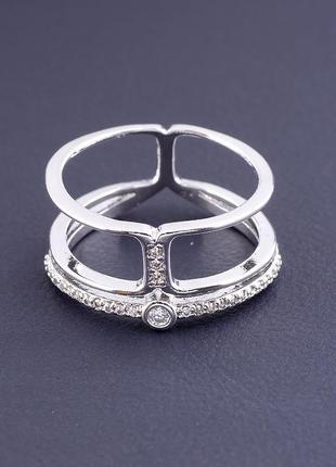 Кольцо 'xuping' фианит (родий) 0807410