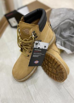 Мужские кожаные ботинки тимберлэнлы dikcies