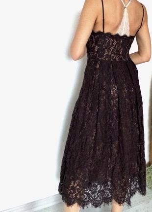 Кружевное крутое платье h&m4 фото