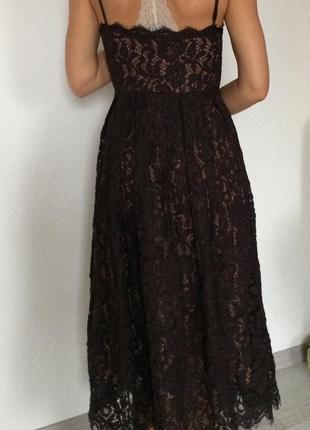 Кружевное крутое платье h&m5 фото