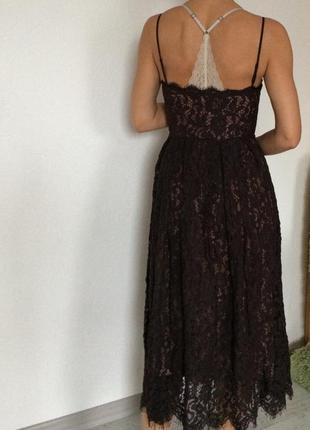 Кружевное крутое платье h&m7 фото