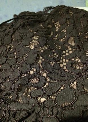 Кружевное крутое платье h&m9 фото