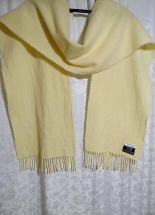 Christian scott. шерстяной шарф 29х186