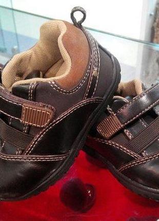 Брендові туфлі дитячі faded glory 21 [великобританія] (детские)