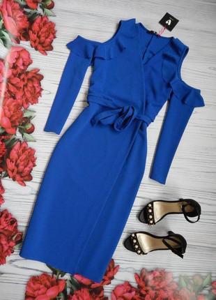 🌿элегантное платье миди с пояском от by very. размер 3xl-4xl.🌿