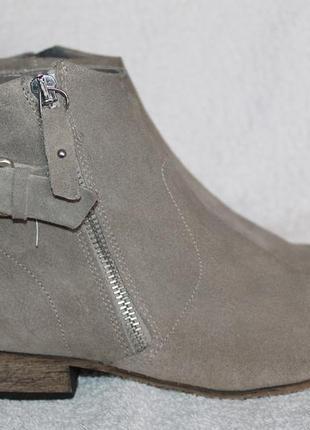 Ботинки с натуральной замши от next